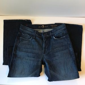 7 For all Mankind high waist bootcut size 27